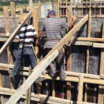 perde beton kalıp yapımı